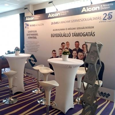 Alcon stand (SHAO XI. Kongresszus Szeged)